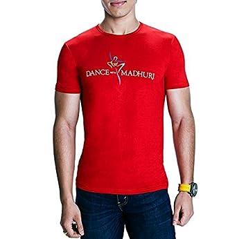 71213494fb7 Madz Men s Cotton T-Shirt (MDz-COL-RON-RED Red XX-Large)  Amazon.in ...