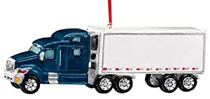 Semi Truck Ornament by Miles Kimball