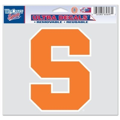 (WinCraft NCAA Syracuse University Multi-Use Colored Decal, 5