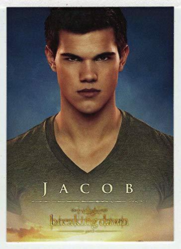 Jacob (Trading Card) The Twilight Saga - Breaking Dawn Part 2-2012 NECA # 5 - Mint (Twilight Trading Cards)