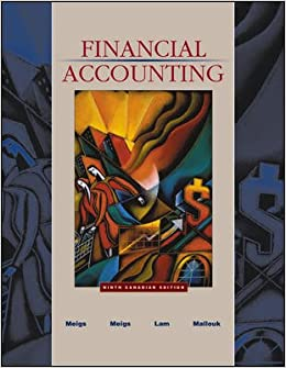 Meigs And Meigs Accounting Book 9th Edition