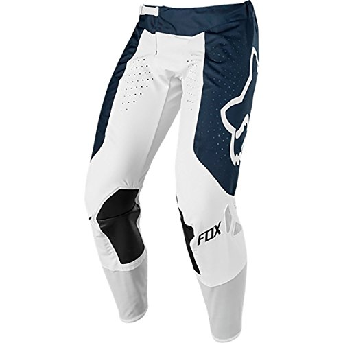 (Fox Racing 2019 Airline Mens Adult Pants ATV MX Offroad Dirtbike Motocross Riding Gear, Navy/White, 32)