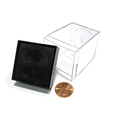 Chessex Dice Plastic Figure Display Box Medium: Toys & Games