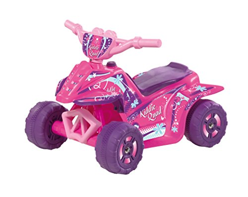 Kid Motorz Kiddie Quad Pink 6V Ride On