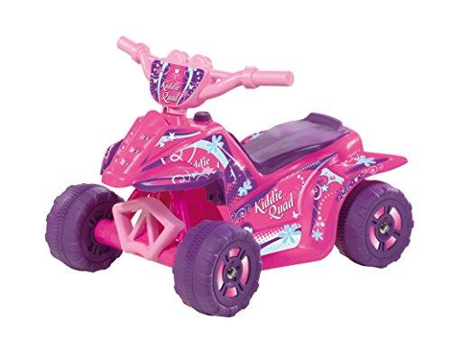 Battery Operated Quad - Kid Motorz Kiddie Quad Pink 6V Ride On