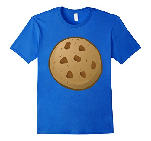 Mens Last Minute Funny Cookie Halloween Costume XL Royal Blue