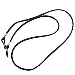 FITYLE Eyeglasses Chain Leather Sunglasses Cord Neck Strap Holder 67cm Retainer