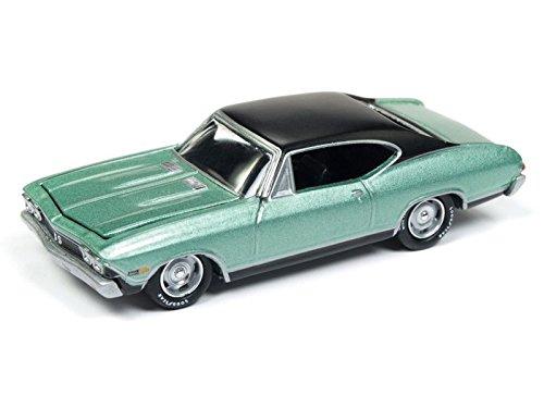 Johnny Lightning JLCG013 Classic Gold Ver A 1968 Chevy Chevelle SS