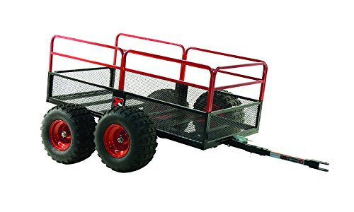 Yutrax Trail Warrior X4 Heavy Duty UTV/ATV Trailer - For Off-Road Use - 1,250 lb. Capacity ()