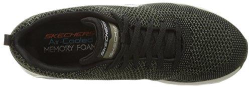 Skechers de Chaussures Noir Olive Air Running Black Homme Extreme rtqr6