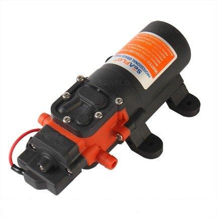 SEAFLO 12v Water Pressure Diaphragm Pump 3.8 LPM 1.0 GPM 40 PSI - Caravan/rv/Boat/Marine by SEAFLO
