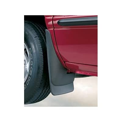 Husky Liners Fits 2004-14 Ford F-150 - with OEM Fender Flares and with running boards Custom Front Mud Guards: Automotive