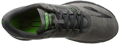 Brooks Mens Purecadence 6 Castle Rock / Black / Green Flash