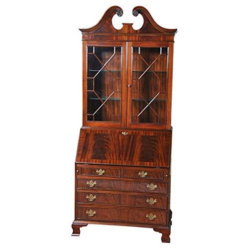 NOF004 Mahogany Secretary Desk by NIAGARA (Mahogany Reproduction Furniture)