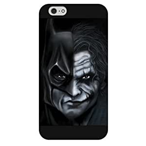 good case Customized Personalized Black Frosted iPhone 5c Case, The Joker, Batman Logo, Batman iPhone 5c case, Only fit iPhone 5c