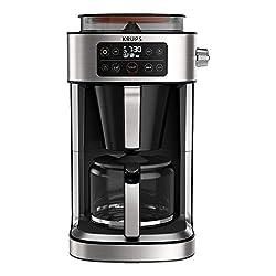 Krups KM760D Aroma Partner Filterkaffeemaschine | herausnehmbare, luftdichte Kaffee-Vorratsbox | präzise Kaffee…