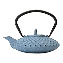 BergHOFF 1107052 Studio Cast Iron Teapot, 0.84-Quart, Blue