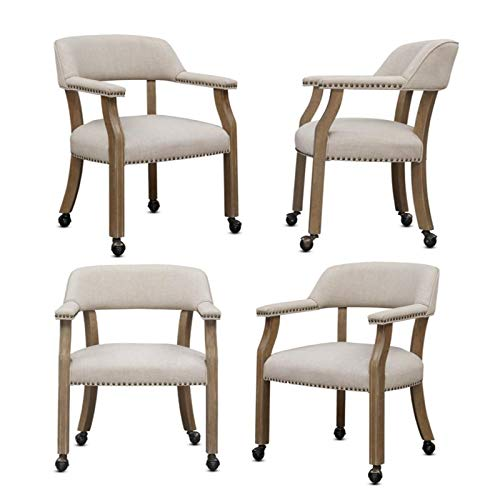 Comfort Pointe Millstone Game or Dining Chairs - Set of 4