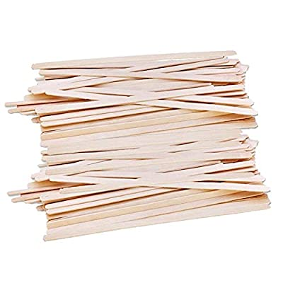 Gmark 1000ct Wood Stirrer - Natural Birch Wood