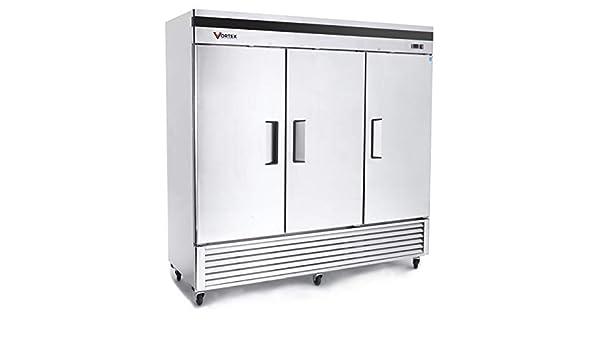 Vortex Refrigeration Commercial 3 - Congelador de puerta (72 cu ...