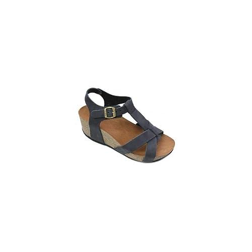 Nabuk V Black41Amazon Frau 59e8 esZapatos Sandal bolsos y VqUzpMS