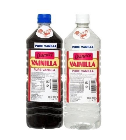 (Danncy Pure Vanilla Extract From Mexico 33oz Each 2 Plastic Bottle Lot Sealed)