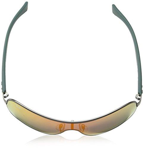 Rb3471 Frame Lenses Mirror Non polarized Gunmetal 32mm Brown Orange Ray Matte ban Sw4Sqf5