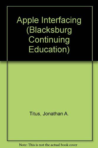 Apple Interfacing (Blacksburg Continuing Education)