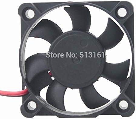 5pcs//lot Gdstime 2Pin DC 12V 5cm Computer Cooling Fan 2Pin 5010 50mm 50x50x10mm