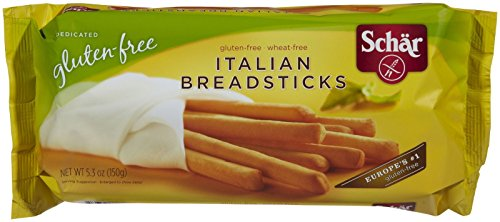 Schar Gluten Free Italian Breadsticks, 5.3 oz (Italian Breadsticks)
