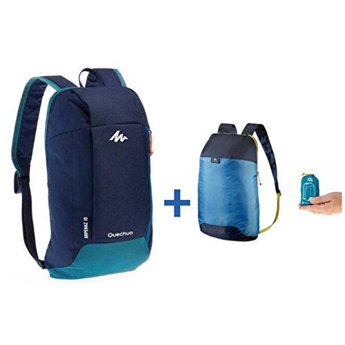 6a03be0a337 Quechua COMBO ULTRA-COMPACT 10 LITRES EXTRA BACKPACK PLUS NH100 10L HIKING  BACKPACK (Combo 6)