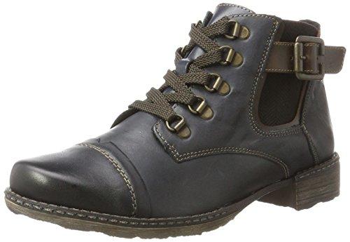 Remonte Women's D4393 Chukka Boots, Brown, 4 UK Blue (Lake/Kastanie/Pazifik 14)