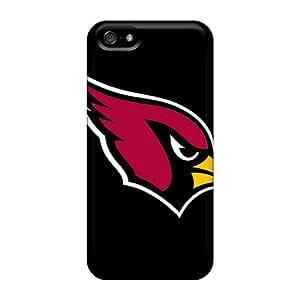 IanJoeyPatricia Apple Iphone 5/5s Protector Cell-phone Hard Covers Unique Design Beautiful Arizona Cardinals Series [eSI15173qtDP]