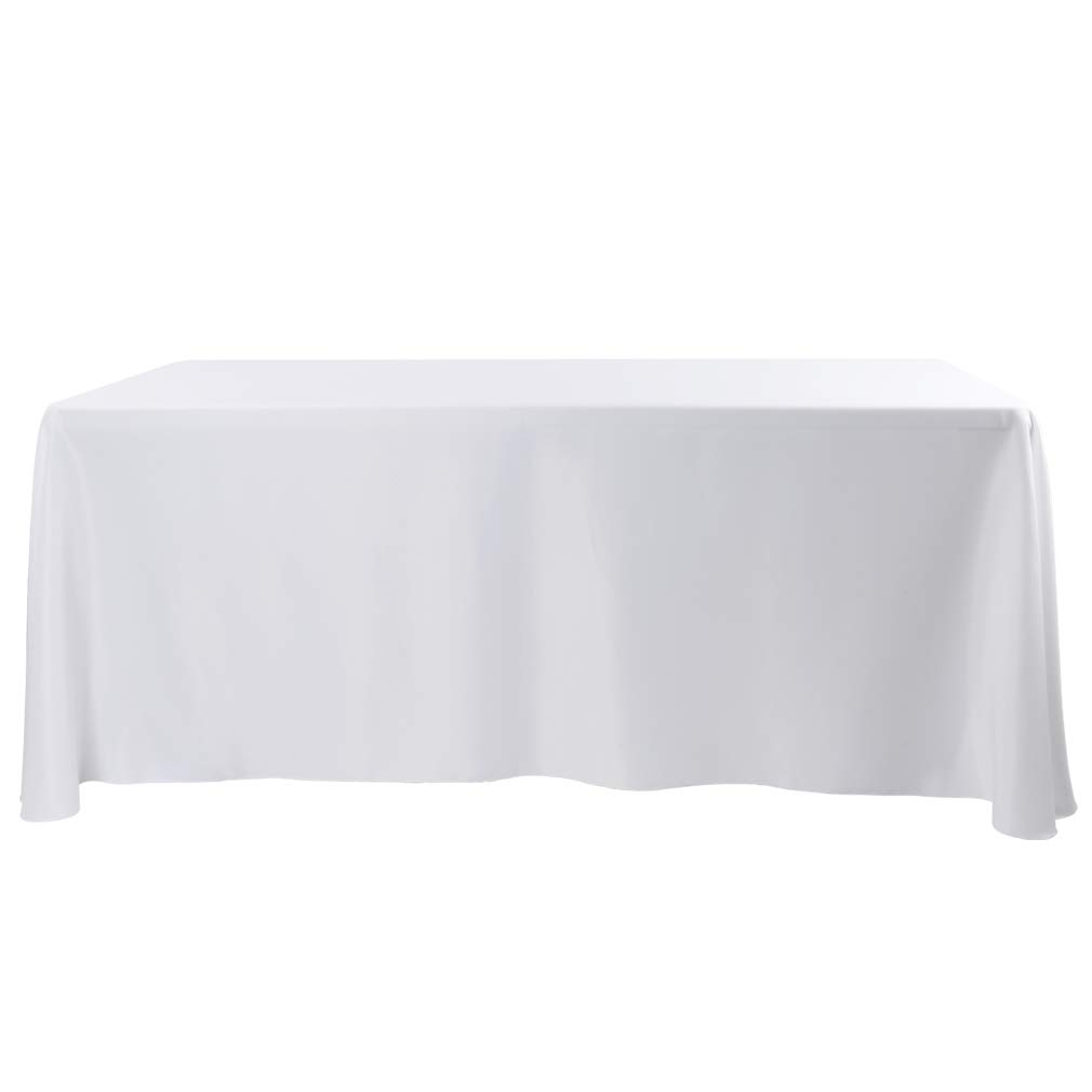 E Tex 90 X 156 Inch Oblong Tablecloth 100 Polyester
