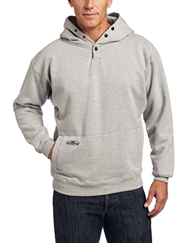 Arborwear Men's Double Thick Pullover Sweatshirt, Athletic Grey, X-Large by Arborwear