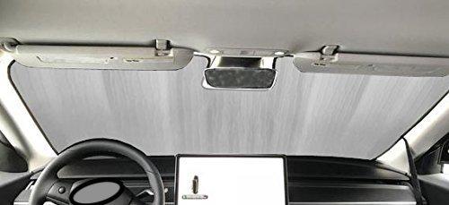 Clear Outer Shade - Sunshade for 2016 2017 2018 Toyota Rav4 Rav-4 With Windshield-Mounted Sensor Custom Fit Windshield Sunshade