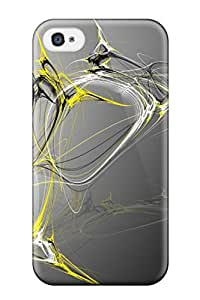 High-quality Durable Protection Case For Iphone 4/4s(bees Demise Bee Fractal Render Digital Art Idle Dynamics Brandon Rhee Anime Other)