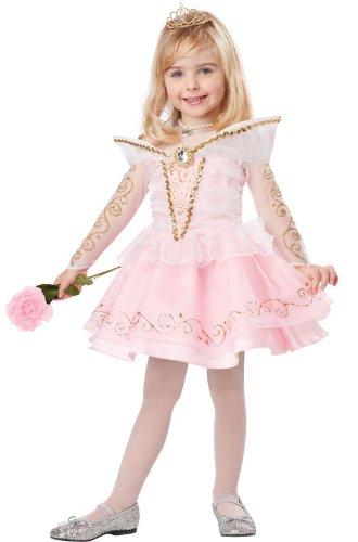 California Costumes Sleeping Beauty Deluxe Toddler Costume, 3-4 (Sleeping Beauty Costumes For Girls)