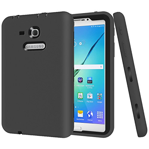 Cheap Bags, Cases & Sleeves Galaxy Tab 3 Lite 7.0 Case, Beimu 3 in 1 Shockproof Heavy..
