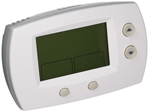 Honeywell TH5220D1029 Focuspro 5000 Non-Programmable 2 Heat and 2 Cooling Thermostat, Large Screen ()