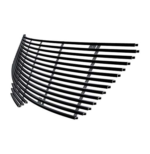 Off Roader Black Stainless Steel eGrille Billet Grille Grill for 07-09 Nissan Altima Sedan Insert ()