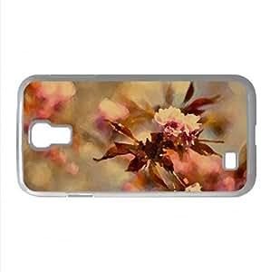 Sakura Blossoms Watercolor style Cover Samsung Galaxy S4 I9500 Case (Flowers Watercolor style Cover Samsung Galaxy S4 I9500 Case)