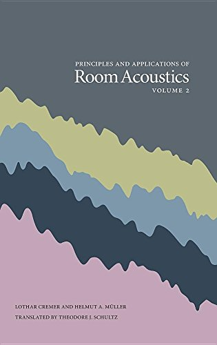 Principles and Applications of Room Acoustics, Volume 2 by Peninsula Publishing