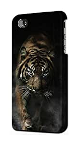 S0877 Bengal Tiger Case Cover for Iphone 4 4s