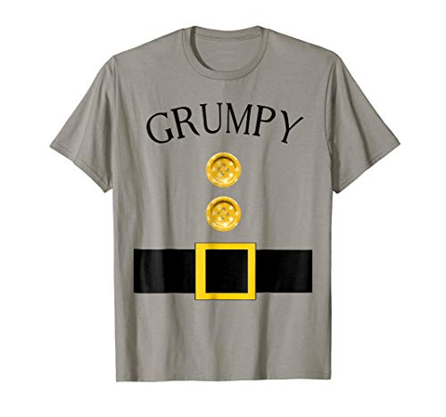 Cute Grumpy Halloween Group Costume T Shirt |