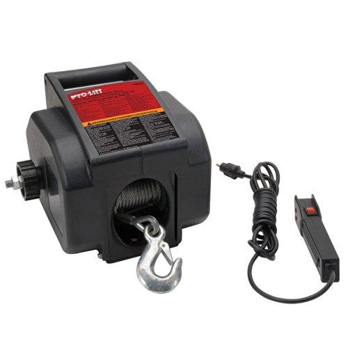Pro-LifT I-9620 Grey Portable Electrical Winch - 2000 lb. Capacity