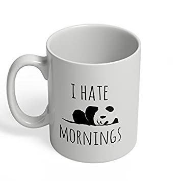 funny office mugs.  funny funny mugs i hate mornings cute office gifts for friends colleagues lazy  morning ceramic coffee throughout r