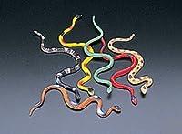 48 Vinyl Snakes Toys Party Favor