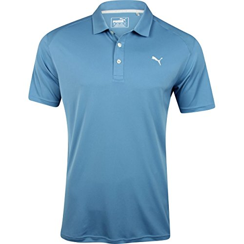 Puma Golf Men's ESS Pounce Polo, Blue Heaven, Medium