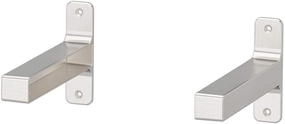 IKEA ASIA GRANHULT - Soporte de Pared (20 x 12 cm, niquelado)